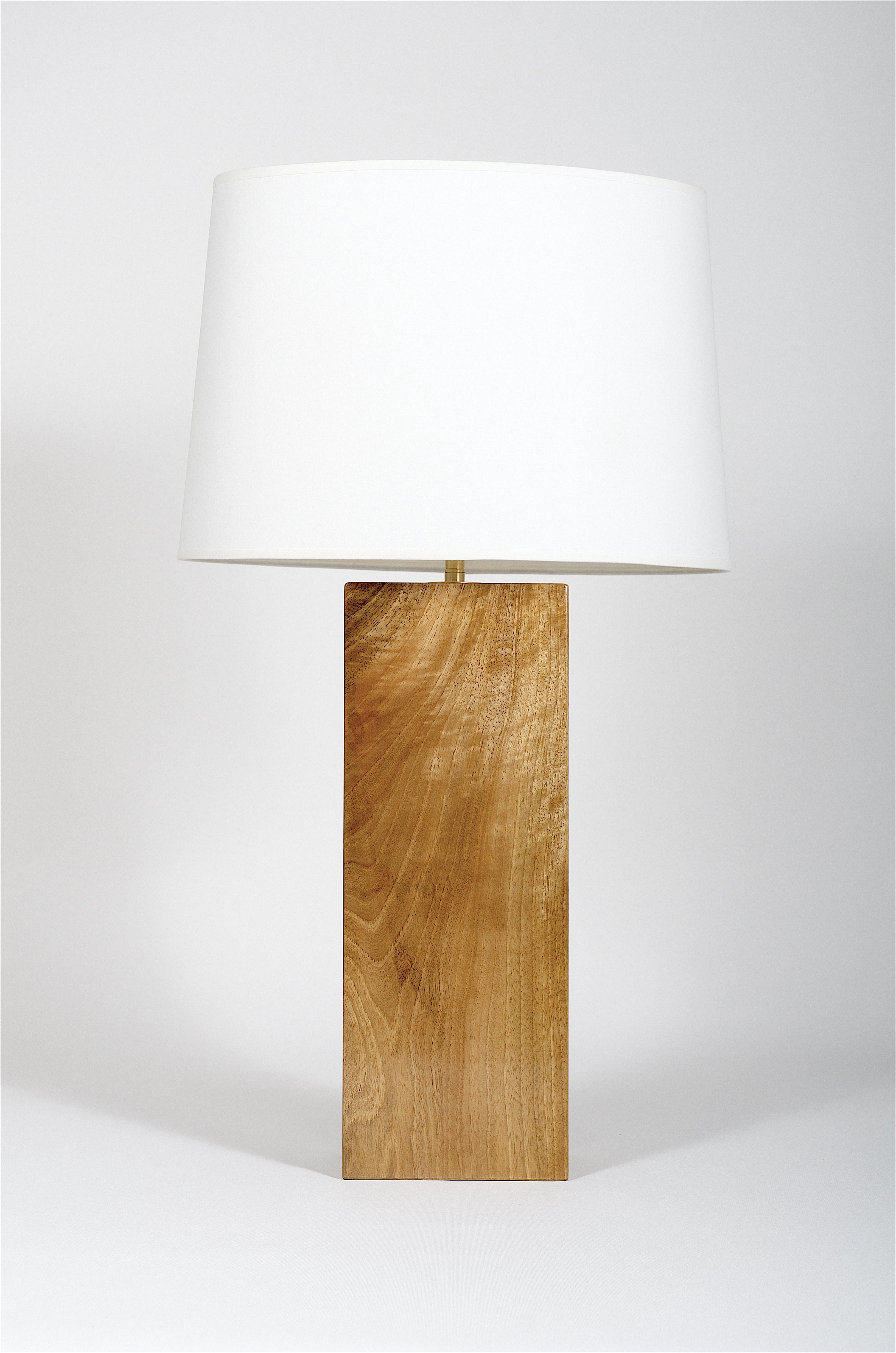 Lampe de bureau noyer - Handschutter art & design / Création de ...